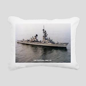 sp uss tattnall small po Rectangular Canvas Pillow