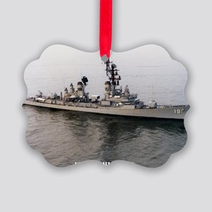 sp uss tattnall small poster Picture Ornament