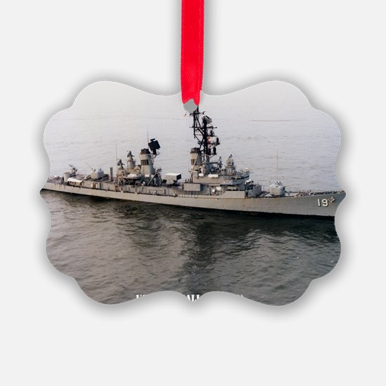 sp uss tattnall small poster Ornament