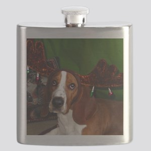 Have a Basset Holiday! Flask