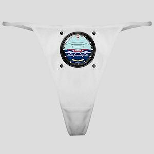 Artificial Horizon (TRANS white 12x1 Classic Thong