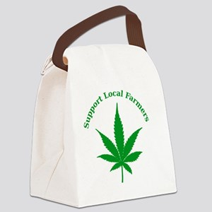 Support Local Farmers Canvas Lunch Bag