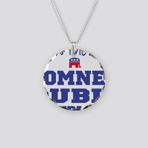 Romney Rubio Republican 2012 Necklace Circle Charm