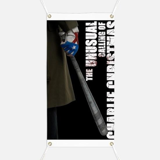 Charlie Glove  Bat Poster Banner