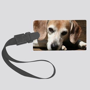 Hurry Home, I miss you Large Luggage Tag