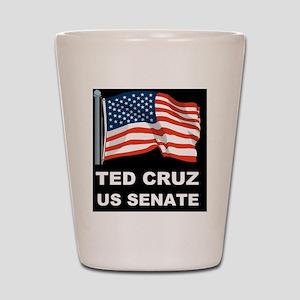 TED CRUZ US SENATE Shot Glass