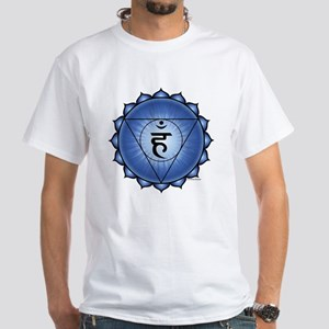 Throat Chakra White T-Shirt