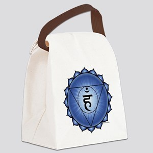 Throat Chakra Canvas Lunch Bag
