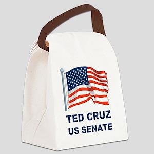 TED CRUZ US SENATED Canvas Lunch Bag