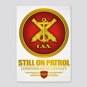 Csn Still On Patrol R 5 X7 Area Rug