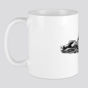 uss tattnall white letters Mug