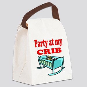 Party at my Crib Shirt Canvas Lunch Bag