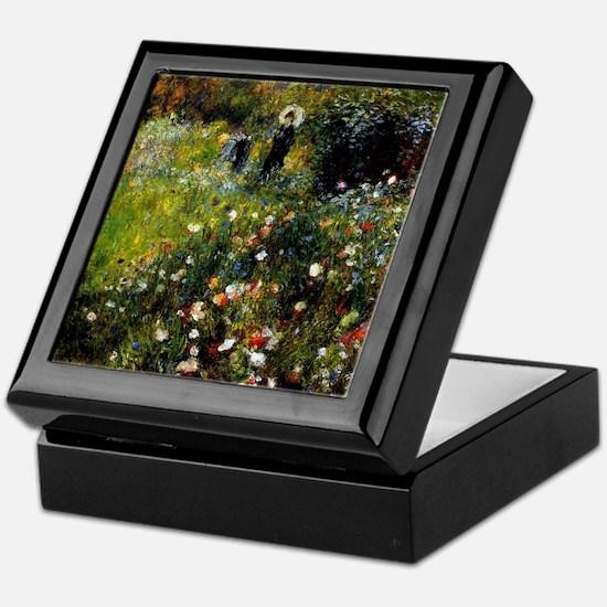 Renoir Summer Landscape Keepsake Box