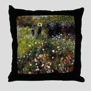 Pierre-Auguste Renoir Throw Pillow