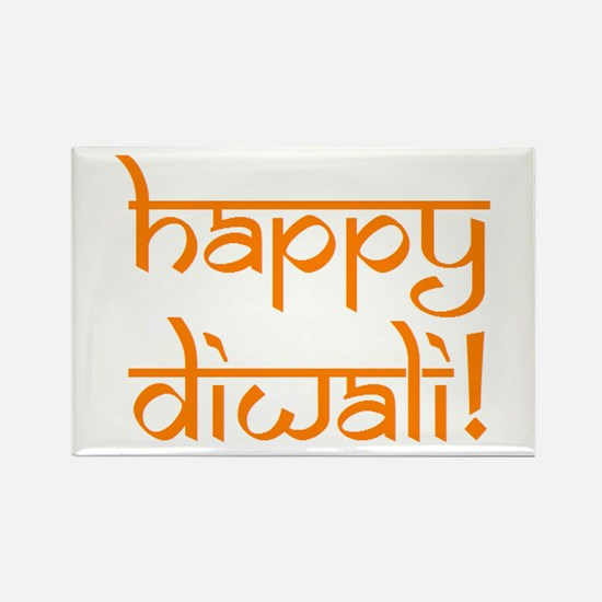 happy diwali Rectangle Magnet