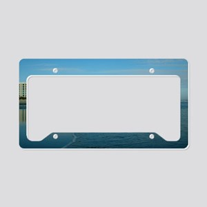 Jax Beach Florida License Plate Holder