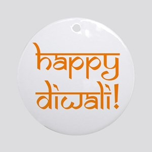 happy diwali Ornament (Round)