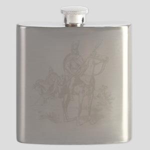 Vintage Viking Flask