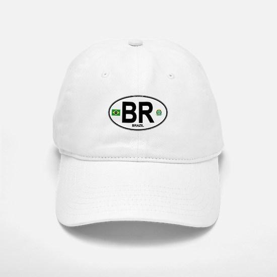 Brazil Intl Oval Baseball Baseball Cap