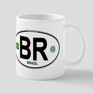 Brazil Intl Oval Mug