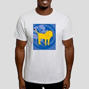 Lion Hexagon Ornament Light T-Shirt