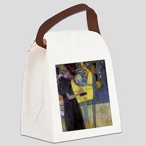 Gustav Klimt Music Canvas Lunch Bag