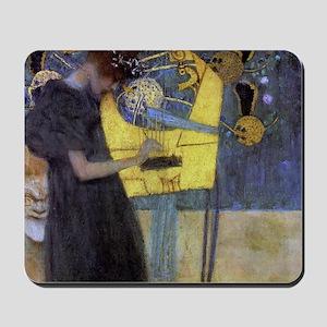 Gustav Klimt Music Mousepad