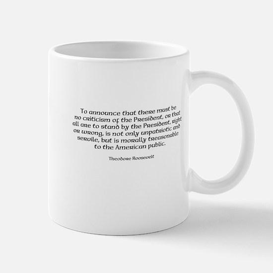 Cute Treason Mug