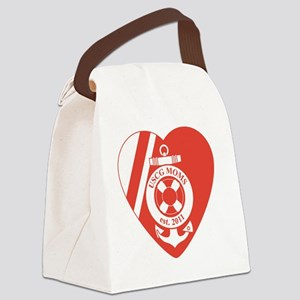 USCG Moms Division 2 Canvas Lunch Bag