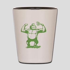 Official gorilla logo Shot Glass