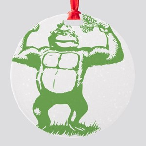 Official gorilla logo Round Ornament