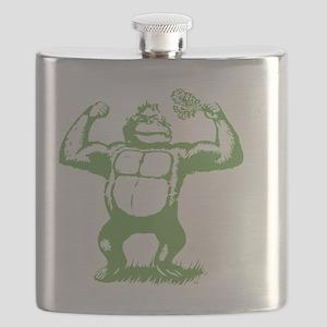 Official gorilla logo Flask