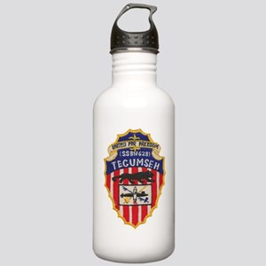 uss tecumseh patch tra Stainless Water Bottle 1.0L