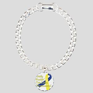 Rockin Chromosome Charm Bracelet, One Charm