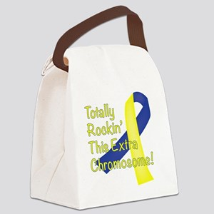 Rockin Chromosome Canvas Lunch Bag