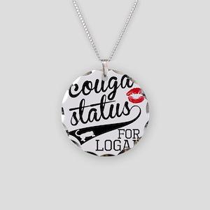 Cougar Status Logan Necklace Circle Charm