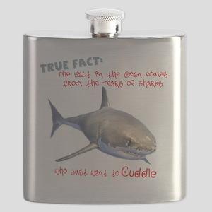 Shark Tears Flask