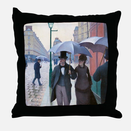 Caillebotte Throw Pillow