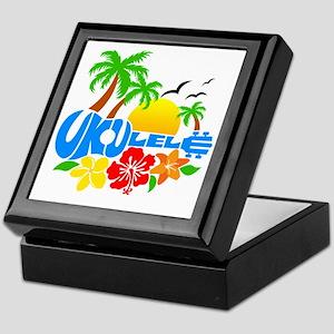 Ukulele Island Logo Keepsake Box