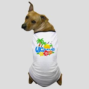 Ukulele Island Logo Dog T-Shirt