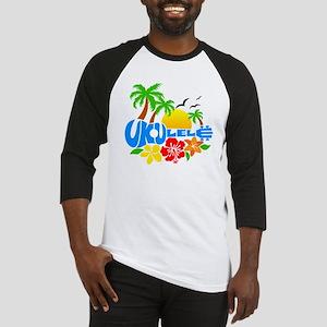 Ukulele Island Logo Baseball Jersey