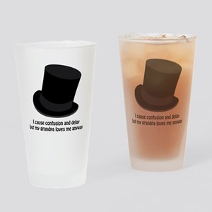 Confusion and Delay Drinking Glass