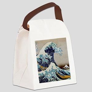 Hokusai Canvas Lunch Bag