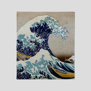 Hokusai Throw Blanket