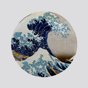 "Hokusai 3.5"" Button"