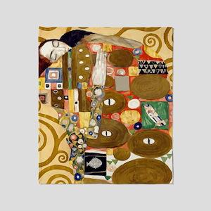Klimt Throw Blanket