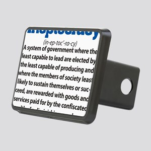 Ineptocracy Rectangular Hitch Cover