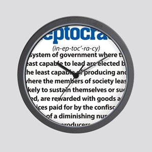 Ineptocracy Wall Clock
