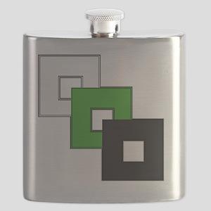 Neutrois Pride Flask