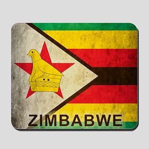 Vintage Zimbabwe Mousepad